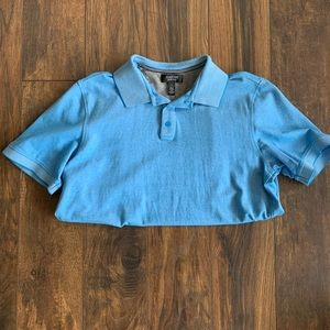 Nordstrom blue athletic polo